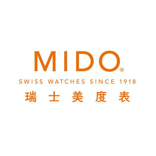 Mido美度表logo